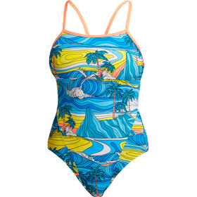 Funkita Eco Single Strap One Piece Swimsuit Women, summer bay